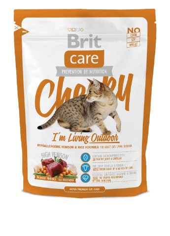 Сухой корм Care Cat Cheeky I am Living Outdoor, 0,4 кг Brit
