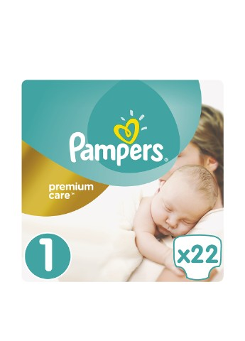 Подгузники Prem. Care Newborn (2-5 кг), 22 шт Pampers